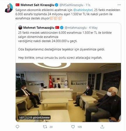 Türkiye Tahmazoğlu'nu konuşuyor