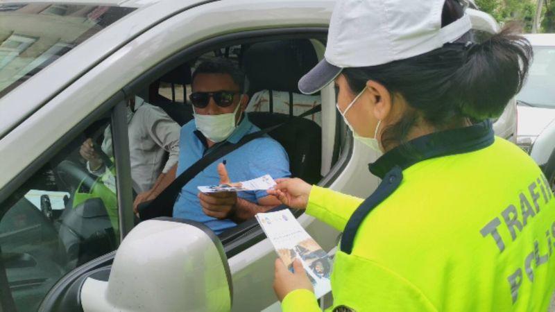 Kurallara uymayan sürücülere ceza