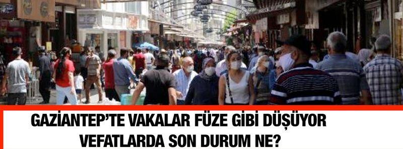 Gaziantep'te vakalar füze gibi düşüyor, vefatlarda son durum ne?