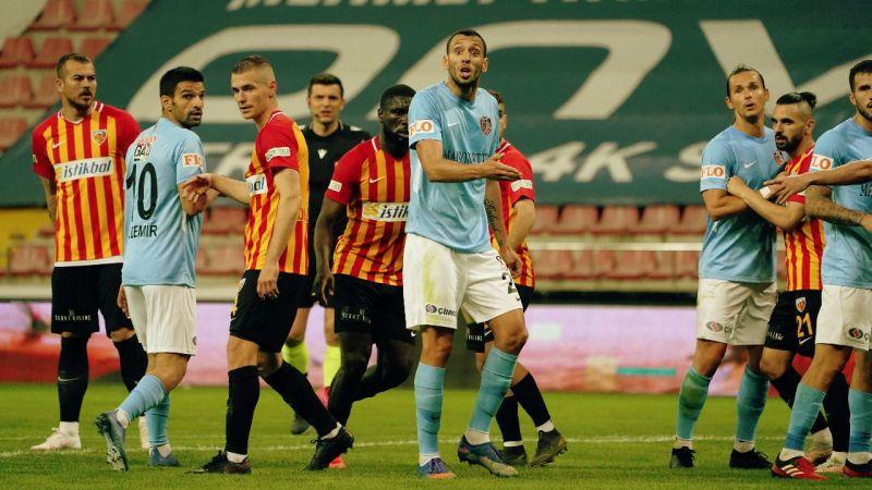 Gaziantep FK puanla döndü!