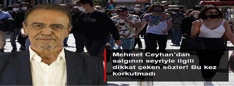 Prof. Dr. Mehmet Ceyhan:Tedbirler Gaziantep ve Türkiye'de Etkili Oldu! Kovid-19 tedbirleri etkili oldu...
