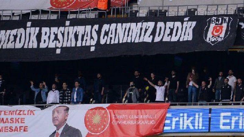 Beşiktaş-Karagümrük maçına taraftar alındı! Kapanma umursanmadı…