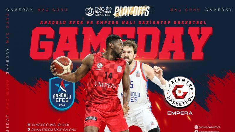 Gaziantep Basketbolun rakibi Anadolu Efes