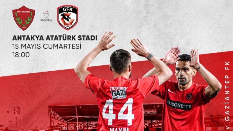 Gaziantep FK, Hatayspor'a konuk oluyor