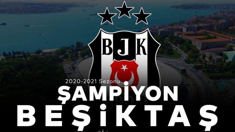 Süper Lig Şampiyonu Beşiktaş