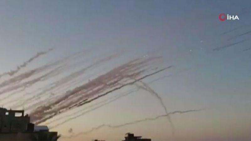 İsrail medyası: Suriye'den İsrail'e en az 6 roket atıldı!