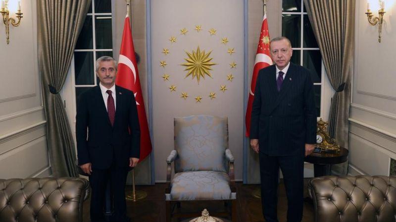 Erdoğan'a Tahmazoğlu'nun sürpriz ziyareti