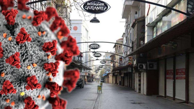 Gaziantep'te vakalar hala ikili rakamlara düşmedi