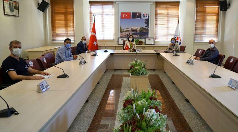 Sağlık-Sen ve Gaziantep Üniversitesi arasında yapılan 2021 yılı  Kurum İdari Kurul toplantısı yapıldı.