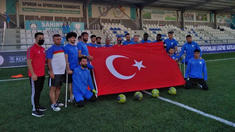 Şampiyonlar Ligi'nde Şahinbey gol olup yağdı