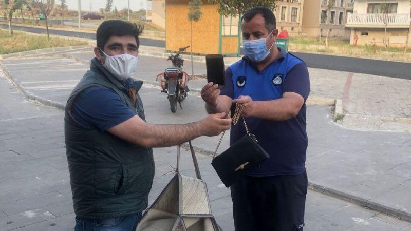 Gaziantep'te bulunan para ve ziynet eşyası sahibine teslim edildi