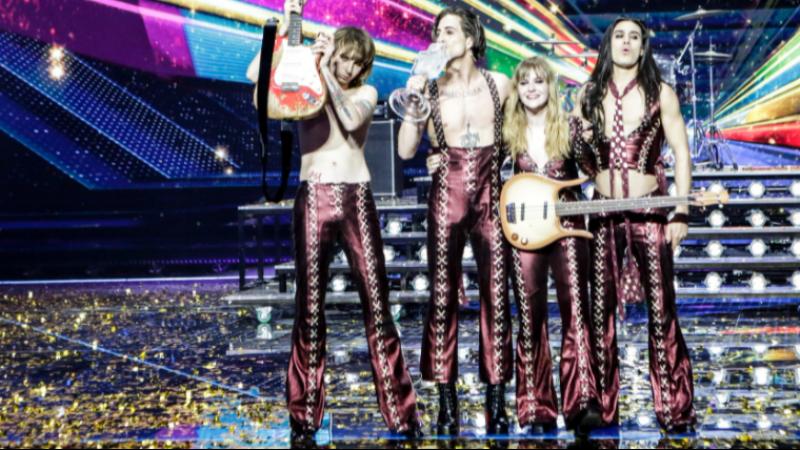 Eurovision Şarkı Yarışması'nı Maneskin rock grubu kazandı