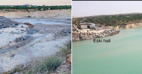Gaziantep'te Eski Adıyla  Körkün'de Yılların Göleti Kuruyor