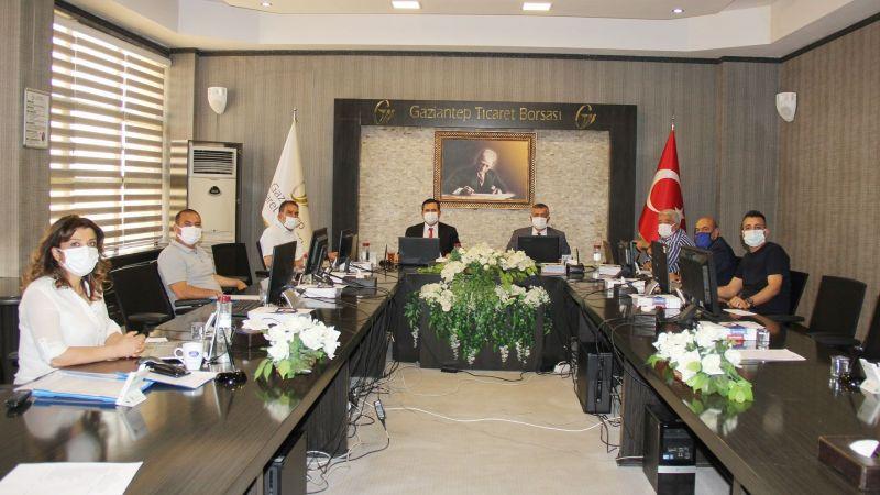 Gaziantep Ticaret Borsası (GTB) mayıs ayı olağan meclis toplantısı gerçekleştirildi