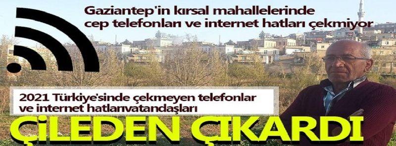 Köyde internet yok, Telefonlar çekmiyor...Öğrenciler online derse giremiyor...