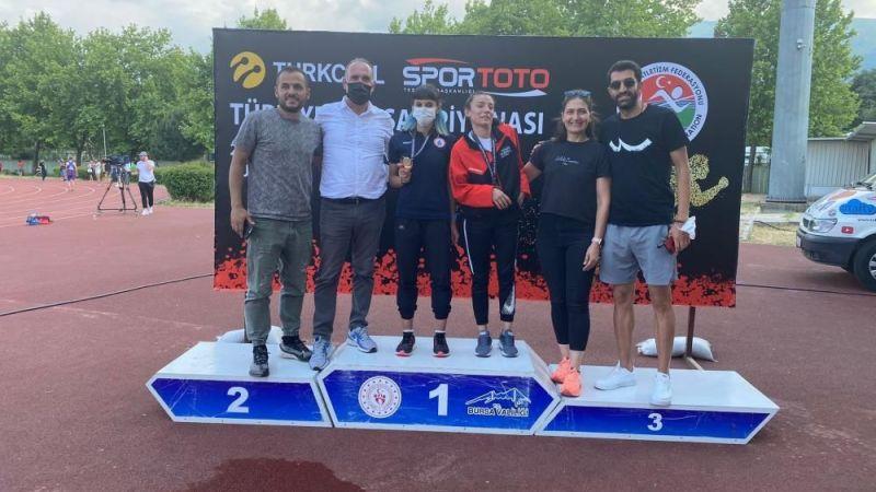 Gazi şehirli atletler Türkiye U20 Şampiyonasına damga vurdu