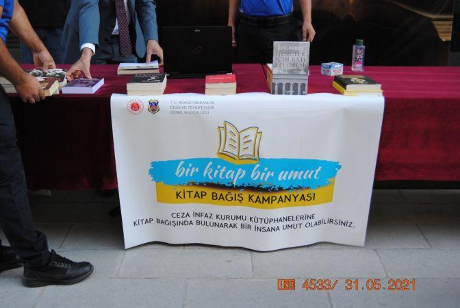 Cezaevi kütüphanelerine kitap bağışı kampanyası