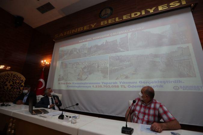 Şahinbey'de Haziran ayı meclis toplantısı yapıldı