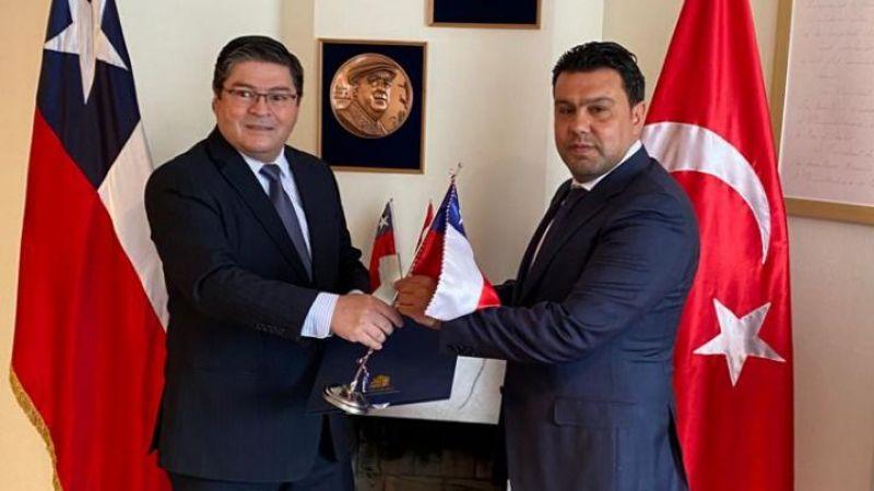 Şili Cumhuriyeti Gaziantep Fahri Konsolosu Özgür Özdağlı oldu.