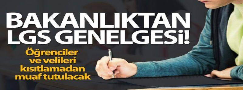 Son Dakika...Gaziantep'e 'LGS' Duyurusu....İçişleri Bakanlığı'ndan 'Liselere Giriş Sınavı Tedbirleri' genelgesi
