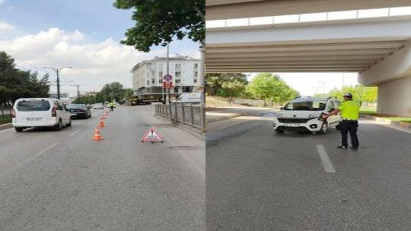 Gaziantep'te Trafik Denetimi Yapıldı