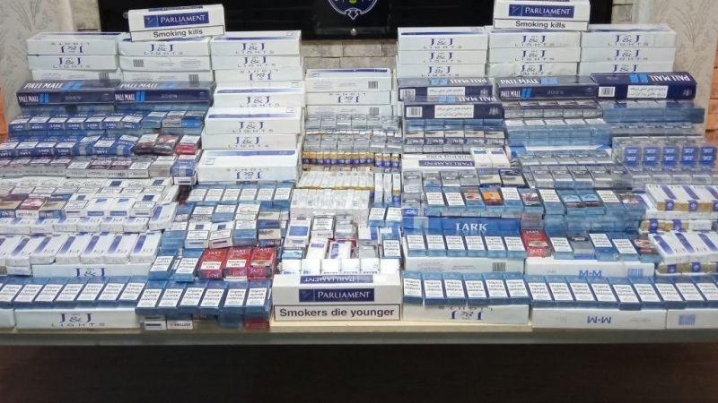 Gaziantep'te 2 bin 866 paket gümrük kaçağı sigara ele geçirildi