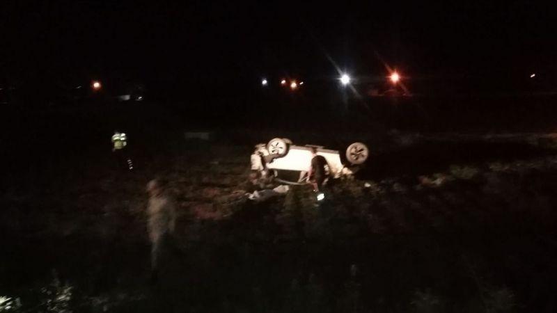 Gaziantep Karayolunda Trafik Kazası