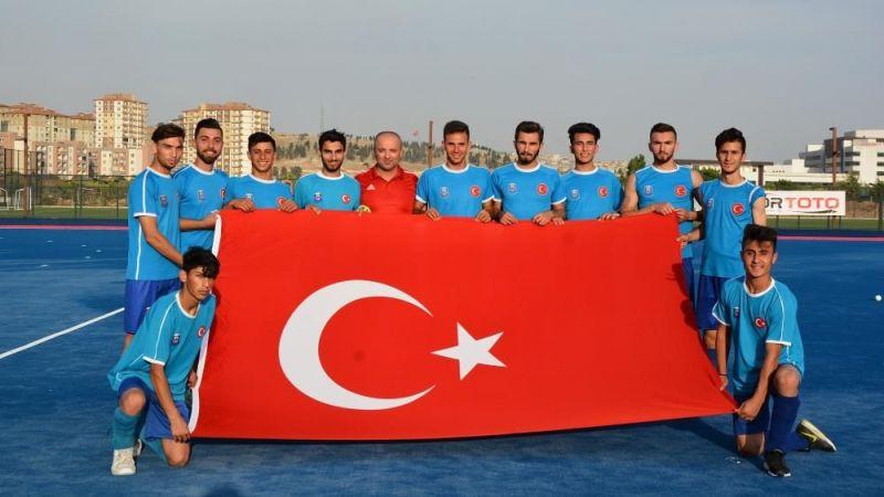Gaziantep Polisgücü Hokey Takımları Süper Lig'e hazır