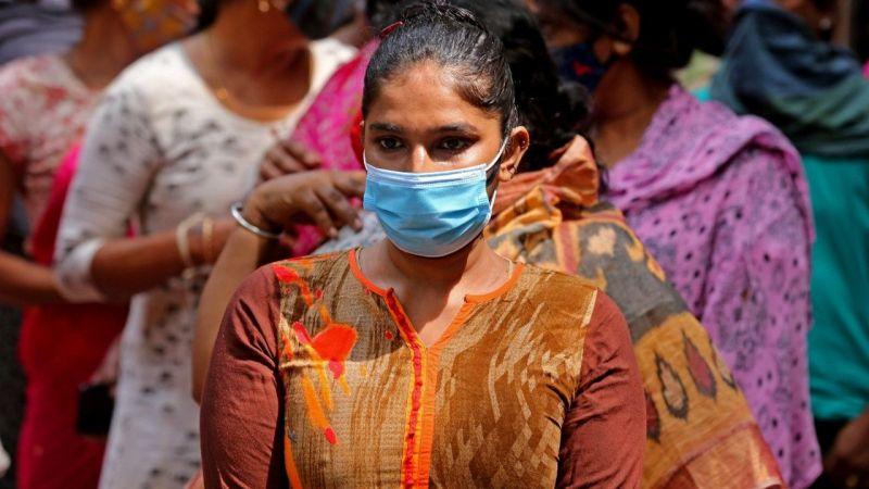 Hindistan'da 7 Nisan'dan bu yana en düşük günlük vaka sayısı