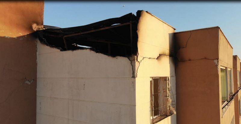 Yangından etkilenen 72 aileye büyükşehirden yardım eli