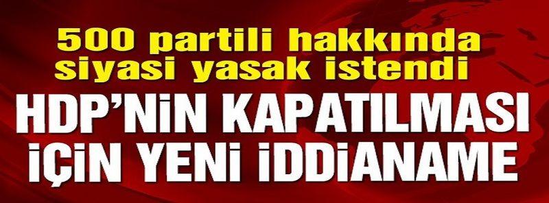Son Dakika...HDP'ye yeniden kapatma davası