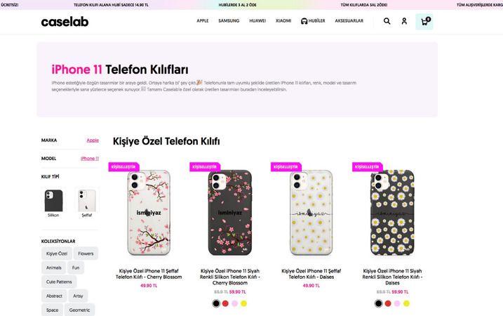 iPhone 11 Telefon Kılıfları Almanın Adresi: Caselabstore