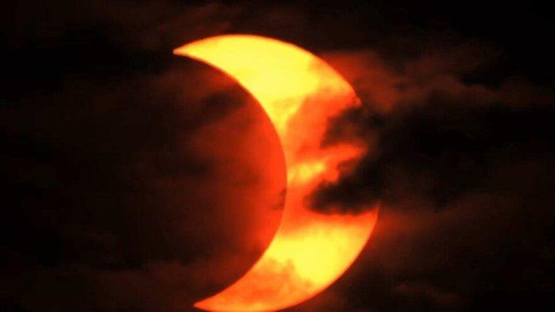 NASA: Kısmi Güneş tutulması başladı