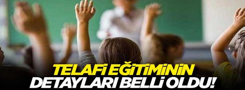 Türkiye ve Gaziantep'te okullarda telafi eğitiminin detayları belli oldu! Öğrenci neredeyse telafi eğitimini orada alacak