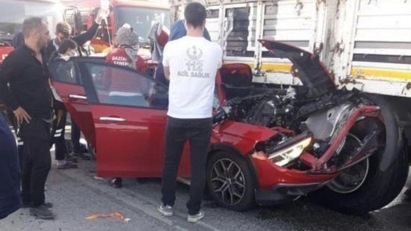 Son dakika! Gaziantep'te feci kaza! Lüks araç kullanılamayacak hale geldi!