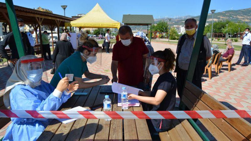 Gaziantep'te 35 yaş ve üzeri vatandaşlara Kovid-19 aşılaması başladı