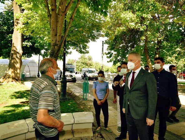 Gaziantep'te mobil aşı ekibi işbaşında
