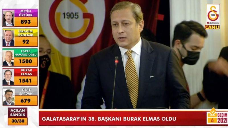 Galatasaray'da Gaziantepli başkan şoku
