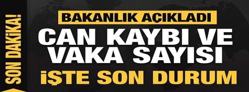 Son dakika:Türkiye'de Gaziantep dahil 21 Haziran koronavirüs tablosu! Vaka, Hasta, ölü sayısı ve son durum açıklandı
