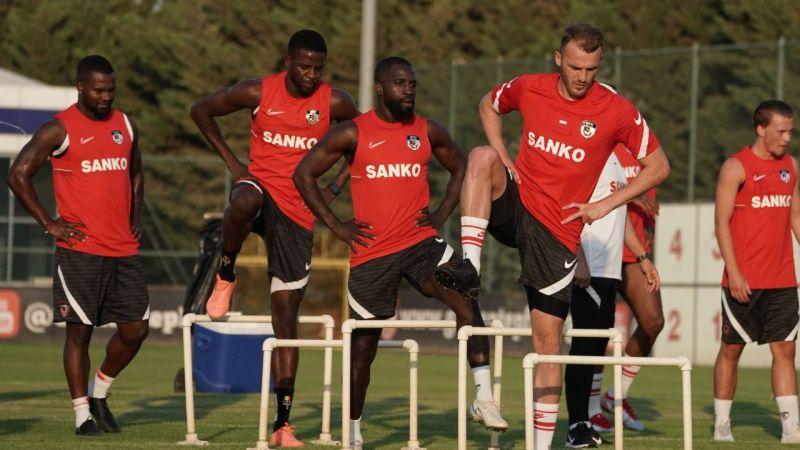 Gaziantep FK tek antrenman yaptı