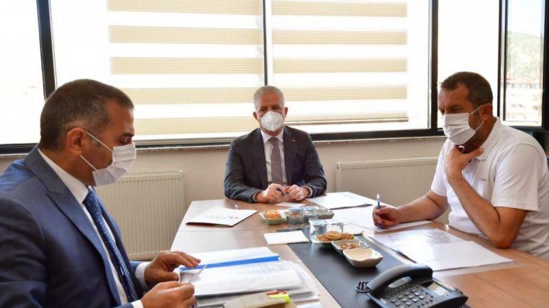 Vali Gül, İslahiye OSB'nin değerlendirme toplantısına katıldı