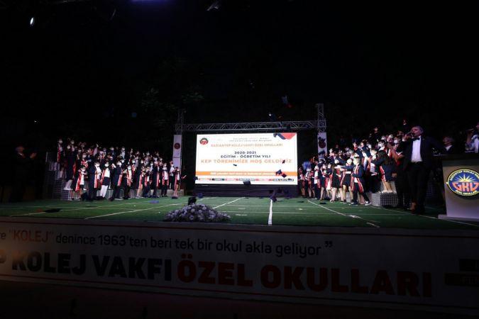 GKV Özel İlkokulu öğrencilerini ortaokula uğurladı