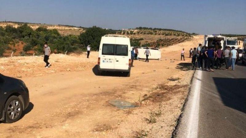 Kuzeyşehir yolunda korkutan kaza