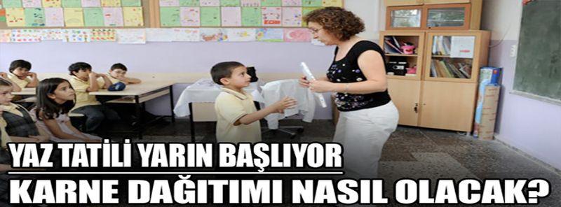 Gaziantep'te yaz tatili yarın başlıyor