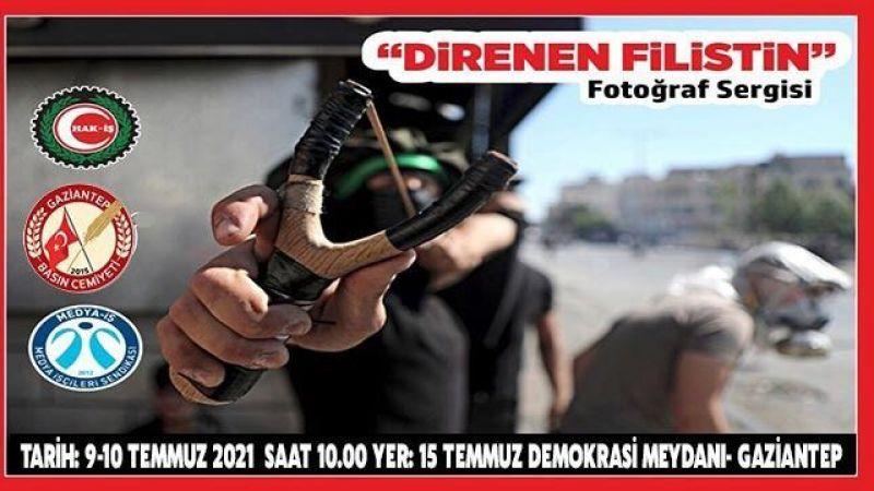 "Gaziantep'te ""Direnen Filistin"" fotoğraf sergisi açılacak"