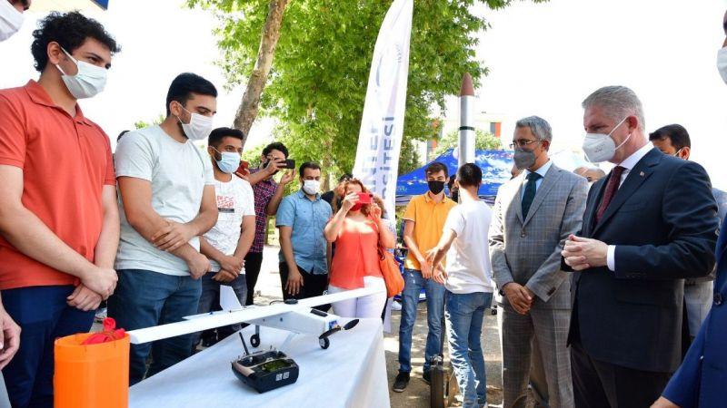 Gaziantep'te Ticari İHA Pilotluk Eğitimi Düzenlendi
