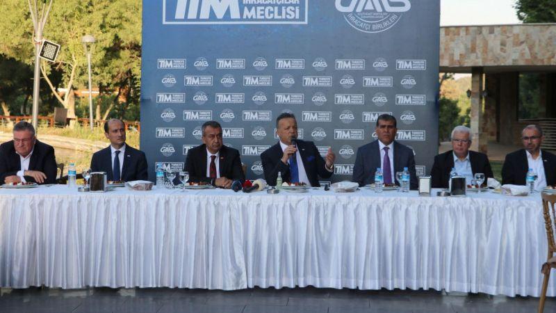TİM Başkanı Gülle Gaziantep'teki iş dünyasıyla görüştü