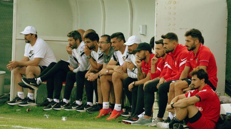 Maçı heyecanla izlediler