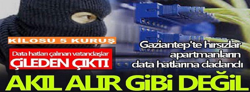 Son Dakika: Gaziantep'te Kilosu 5 Kuruş Etmez Kablo Vurgunu! Vatandaşı canından bezdirdi