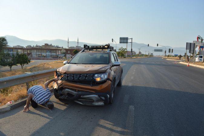 Son Dakika: Gaziantep'te cip ile otomobil çarpıştı: 2 yaralı